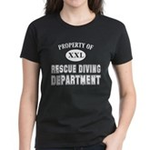 Rescue Diving Department Women's Dark T-Shirt