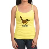 Birdorable Carolina Wren Jr. Spaghetti Tank