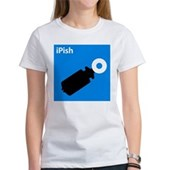  iPish (blue) Women's T-Shirt