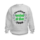 Enriched Air Diver 2008 Kids Sweatshirt