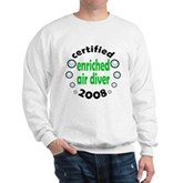 Enriched Air Diver 2008 Sweatshirt