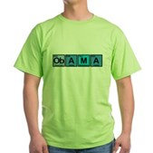 Obama Elements Green T-Shirt