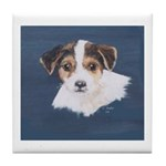 Jack Russell Terrier Puppy Tile Coaster