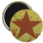"Rusty Star 2.25"" Magnet (10 pack)"