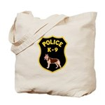 K-9 Badge Tote Bag