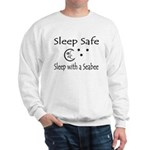 Sleep Safe Sleep with a Seabee Sweatshirt