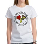 Part of my Heart is Deployed - Military Women's T-
