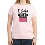 Breast Cancer Attitude Women's Light T-Shirt