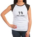 7% Fat Free T-Shirts & Gifts Women's Cap Sleeve T-Shirt
