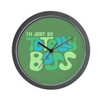 Totally Boss Wall Clock