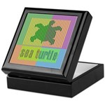 Bar Code Turtle Keepsake Box