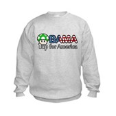 Obama 1up for America Kids Sweatshirt
