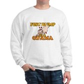 Fist Bump for Obama Sweatshirt
