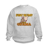 Fist Bump for Obama Kids Sweatshirt