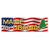 Maine for Obama Bumper Sticker
