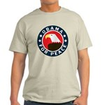 Obama For Peace Light T-Shirt