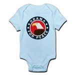 Obama For Peace Infant Bodysuit