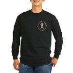 3 Year Breast Cancer Survivor Long Sleeve Dark T-S