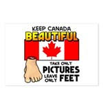 Canada Severed Foot Postcards (Package of 8)