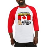 Canada Severed Foot Baseball Jersey
