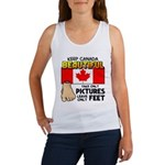 Canada Severed Foot Women's Tank Top