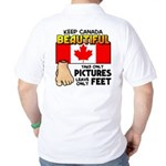 Canada Severed Foot Golf Shirt
