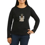 Holy Kitty Women's Long Sleeve Dark T-Shirt