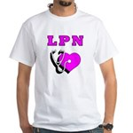 LPN Care White T-Shirt