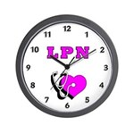 LPN Care Wall Clock