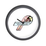 Faith Miles CDH Awareness Ribbon Wall Clock