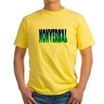 nonverbal Yellow T-Shirt