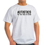 True Voice of Autism Ash Grey T-Shirt