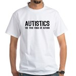 True Voice of Autism White T-Shirt