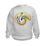 Cure Ignorance (Rainbow) Kids Sweatshirt