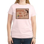 Autistics for Obama Women's Light T-Shirt