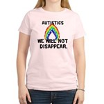 We Will Not Disappear Women's Light T-Shirt