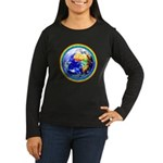 Autistic Planet Women's Long Sleeve Dark T-Shirt