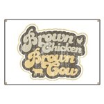 Brown Chicken Brown Cow Banner