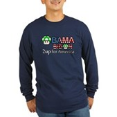 2up for America Long Sleeve Dark T-Shirt