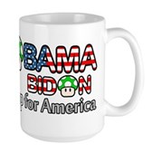 2up for America Large Mug