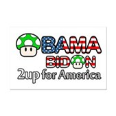 2up for America Mini Poster Print