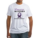 Alzheimer's Disease Fitted T-Shirt