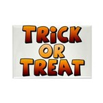 Trick or Treat Rectangle Magnet