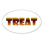 Glowing Treat Oval Sticker (50 pk)