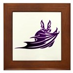 Vampire Bat 2 Framed Tile