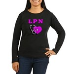LPN Care Women's Long Sleeve Dark T-Shirt