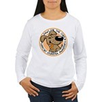 Paws for the Cure: Leukemia Women's Long Sleeve T-Shirt