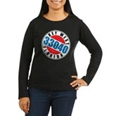 Key West 33040 Women's Long Sleeve Dark T-Shirt