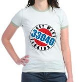 Key West 33040 Jr. Ringer T-Shirt