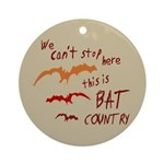 Bat Country Keepsake (Round)